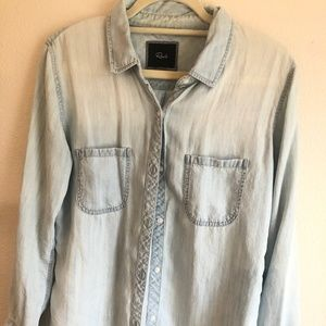 Rails Medium Button Down Top